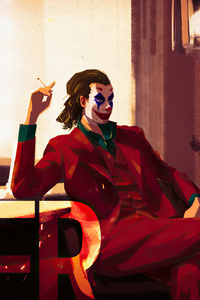 320x480 Joker Artwork 4k 2020