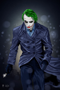 Joker Artwork 4k