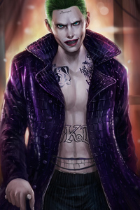 Joker Bad Guy Art