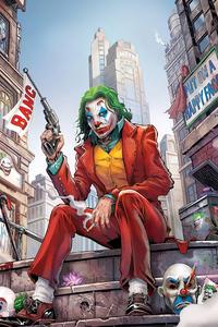 800x1280 Joker Bang Gun