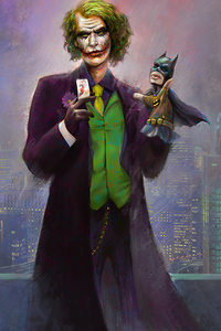 720x1280 Joker Bat Puppet