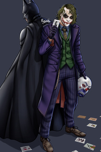 Joker Batman Art 5k