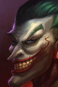 Joker Big Face 4k