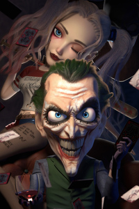 480x800 Joker Big Face