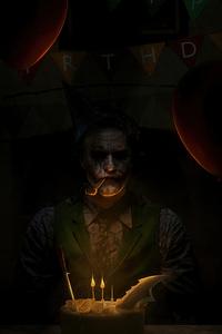 640x1136 Joker Birthday 4k