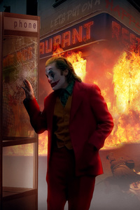Joker Burn The City
