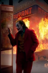 240x320 Joker Burn The City