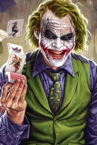 Joker Card Up 4k