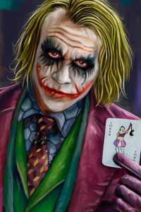 Joker Closeup Artwork 4k