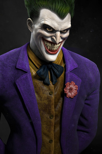 320x480 Joker Closeup Laugh