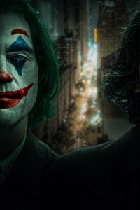 Joker Clown Face Art