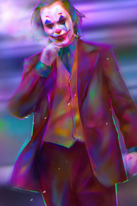 Joker Colorful Art