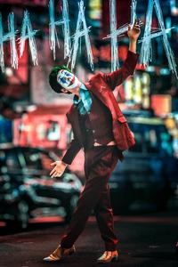 1242x2688 Joker Cosplay 2020 4k