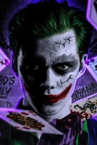 480x854 Joker Cosplay 4k 2020