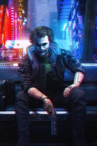 Joker Cyberpunk