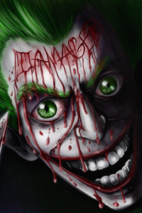 Joker Damaged Art