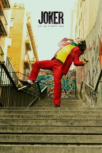 240x320 Joker Dance On Stairs