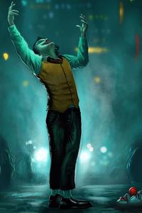 1080x2280 Joker Dance Sketch 4k