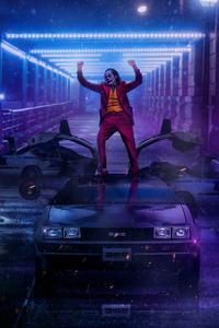 Joker Dancing On DMC DeLorean