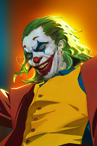 2160x3840 Joker Danger Laugh