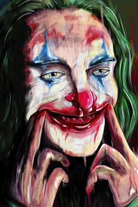 1080x1920 Joker Digital Painting 4k