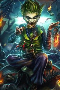 Joker Eating Candy