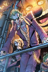 1440x2560 Joker Evil Art