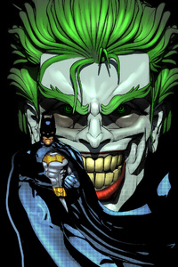 320x480 Joker Evil Laugh Batman