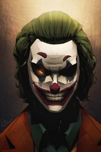 Joker Eyes Glowing