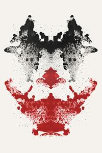 1125x2436 Joker Face Artwork
