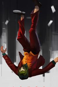 640x1136 Joker Falling