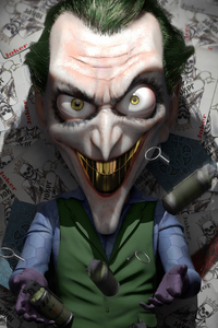 480x800 Joker Golden Teeth