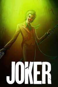 640x960 Joker Graphic Cover Art