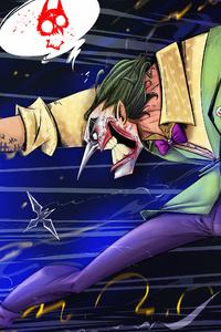 Joker Gun 4k Art