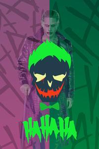 1242x2688 Joker Haha 4k