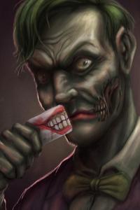 320x568 Joker Half Face