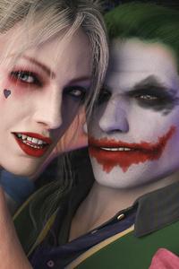 320x568 Joker Harley 4k