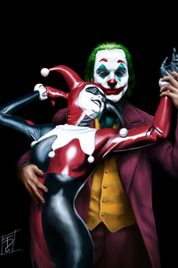 Joker Harley Art