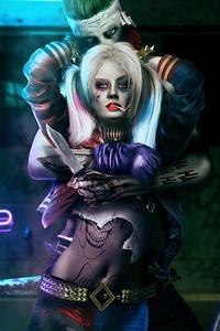 720x1280 Joker Harley Quinn New
