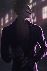 480x800 Joker Hd Art