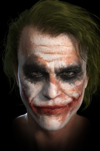 540x960 Joker Heath Ledger 4k Art
