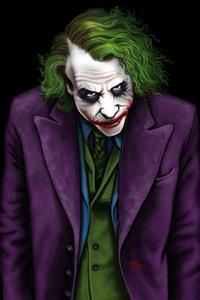 Joker Heath Ledger Art