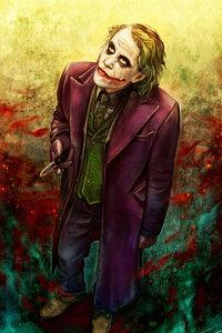 Joker Heath Ledger Art 4k 2019