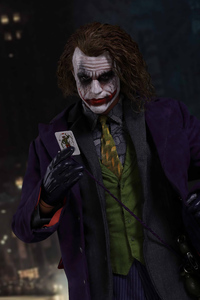 320x480 Joker Heath Ledger4k