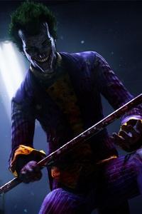 Joker Holding Crowbar