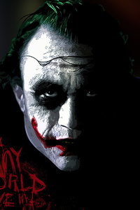 1280x2120 Joker Its Funny World We Live