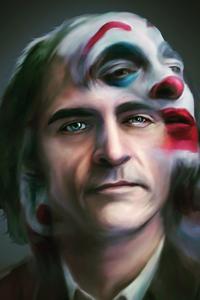 1242x2688 Joker Joaquin Phoenix 4k