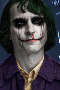 240x320 Joker Joaquin Phoenix Art 4k