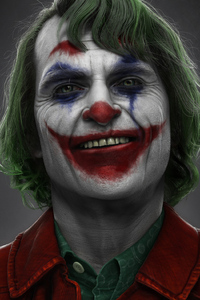 Joker Joaquin Phoenix Art