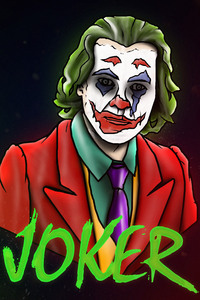 Joker Joaquin Phoenix Artwork